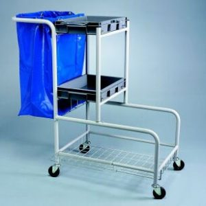 M595 HOTEL MAIDS TROLLEY COMPLETE WITH BAG